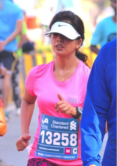 Contours Women's Day Run_ Anandita_ Running