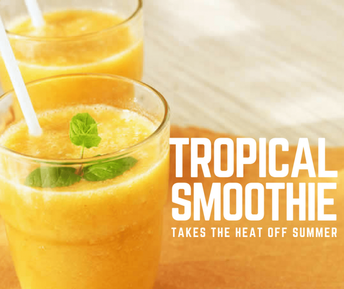 TROPICAL SMOOTHIE RECIPE » Contours IndiaContours India
