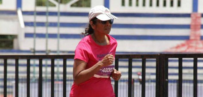 Chandra Gopalan on Fitness at HerStory meetup